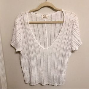 Nordstrom PST Project Social T White T Shirt